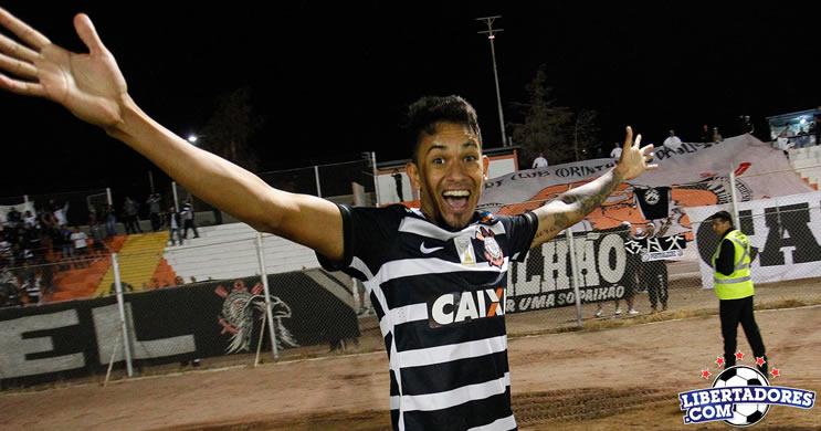 Nos acrescimos Corinthians arranca vitoria diante do Cobresal