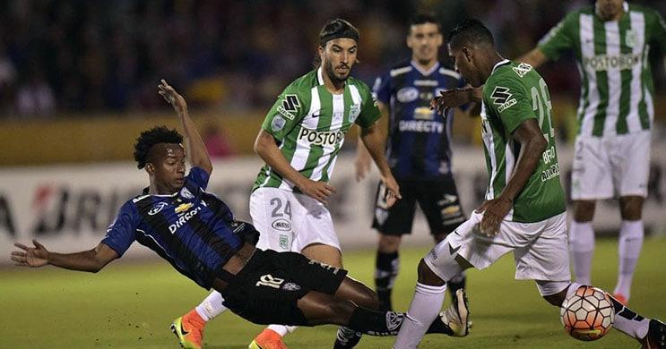 Independiente Del Valle e Atletico Nacional empatam
