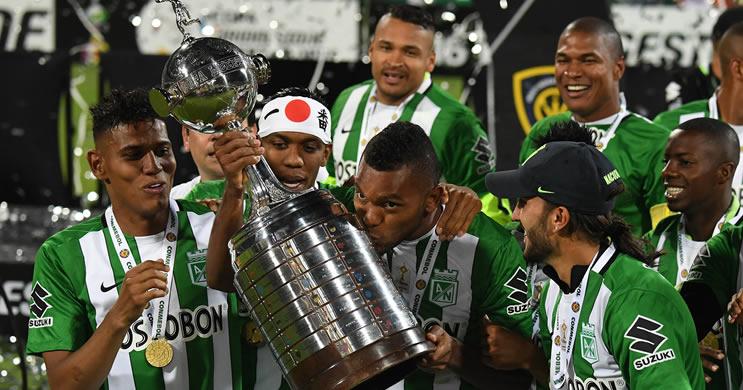 Atlético Nacional campeão Copa Libertadores