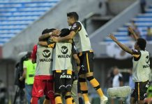 The Strongest vence Wanderers
