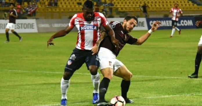 Junior Barranquilla fez 3 a 0 no Carabobo