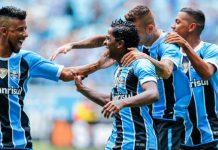 Grêmio venceu Deportivo Iquique
