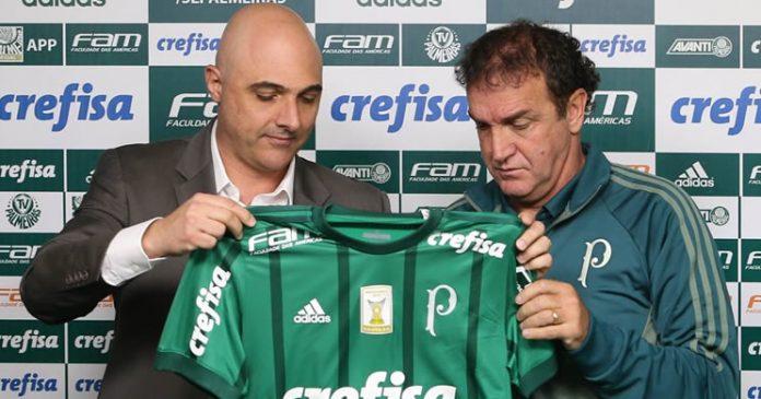 Cuca técnico do Palmeiras