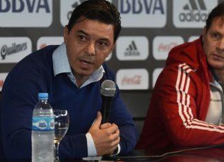 Marcelo Gallardo e Pedro Hansing
