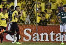 Derrota do Palmeiras em Guayaquil