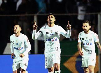 Jogaço do Santos contra o Furacão