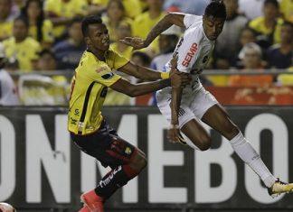 Santos e Barcelona empatam