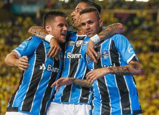 Grêmio com o pé na Final da Libertadores