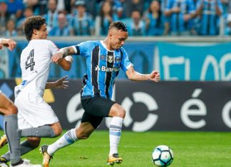 Time reserva do Grêmio no domingo