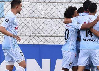 A estreia na Libertadores